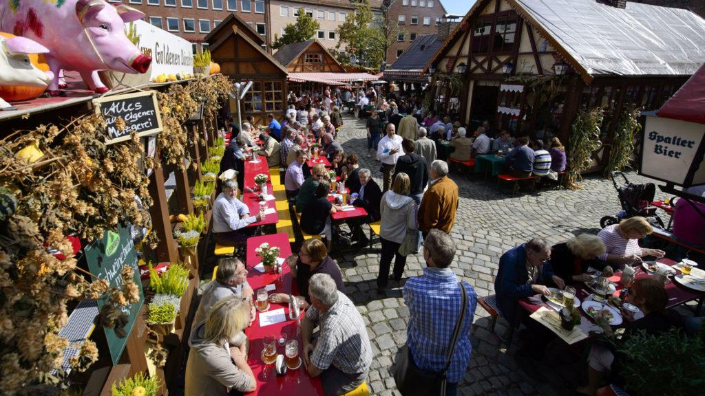 Vosteen Nuremberg Annual Events Altstadtfest Traditional Festival Nuremberg