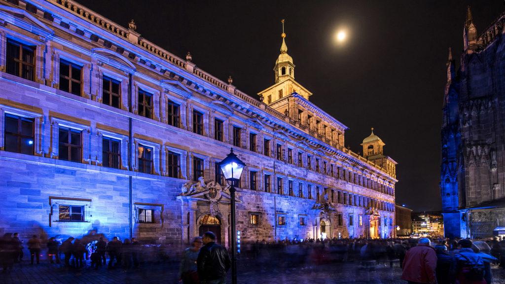 Vosteen Nuremberg Annual Events Blaue Nacht Arts and Installations nuremberg
