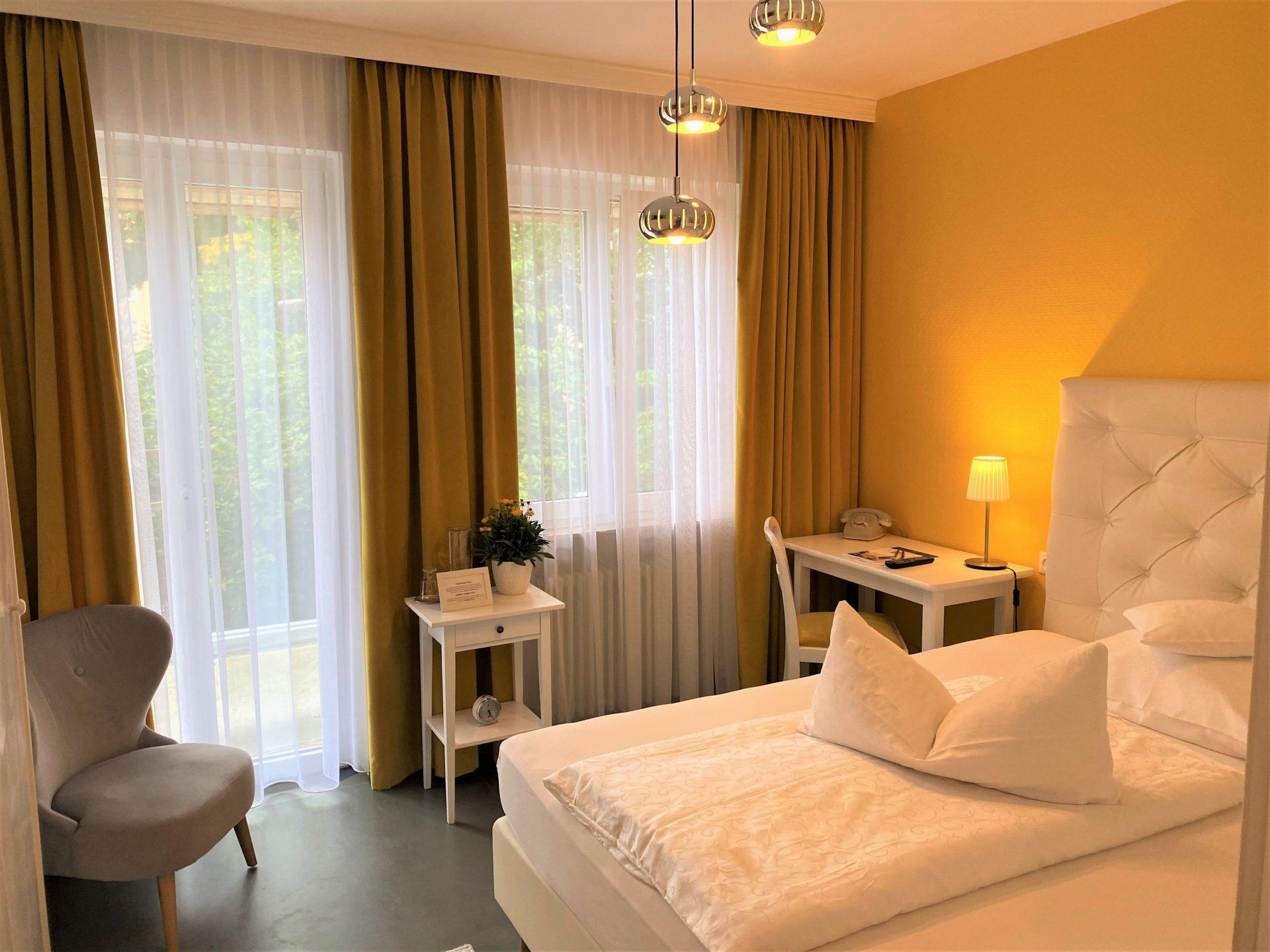 Zimmer Gartenblick im Hotel Vosteen